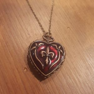 Jewelry - Red Heart Locket Necklace